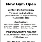 New Gym Open