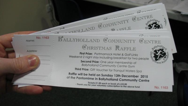 ***Ballyholland Community Centre – Christmas Raffle***