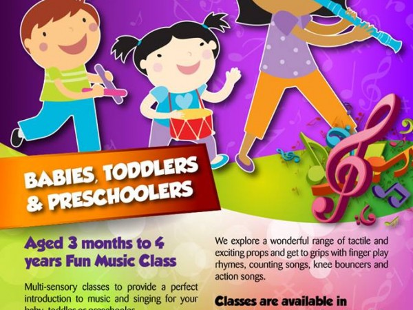 Doh Ray Me – Music Class for Young Children!!!